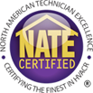 Contemporary Air Systems, Inc. is NATE certified for its quality Heat Pump repair in Baltimore MD!