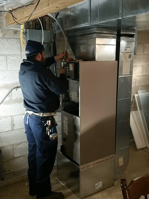 CAS air handler